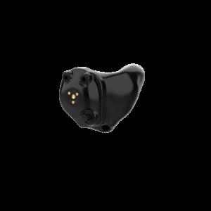 Wewnątrzuszne ładowalne aparaty słuchowe Audibel Via AI Edge czarny